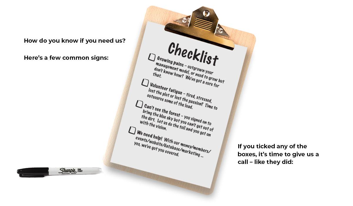 checklist the good work group